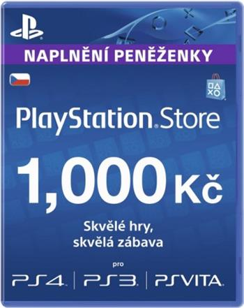 PlayStation Live Cards 1000Kč - PS719894032