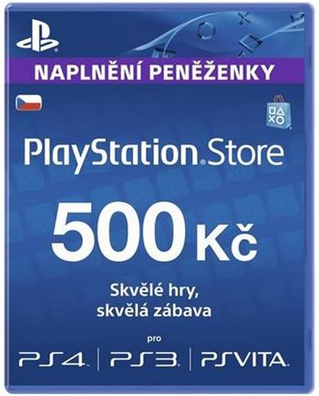 PlayStation Live Cards 500Kč - PS719894339