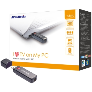 AverTV Hybrid, Volar HD USB2.0 stick digit. analog - 61h830hbf0ab