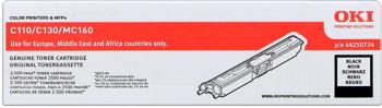 Oki Toner Černý do C110/C130n/MC160 (2.5K) - 44250724