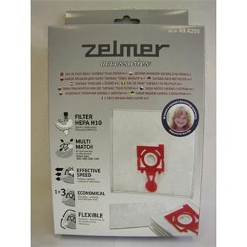 Zelmer filtr (sáčky) do vysavače 49.4200 (4+1) - 49.4220 (4+1) - 3000, 4000, 50