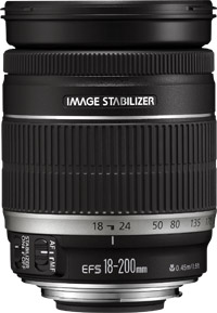 Canon EF-S 18-200 mm f/3.5-5.6 IS - 2752B005BA