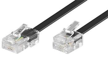Telefonní kabel RJ45 - RJ11, 6m černý - 11.92.9856