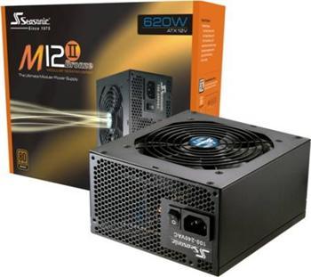 Zdroj SEASONIC M12II-620W, ATXv2.9+EPS, 620W, 80PLUS - M12II-620W