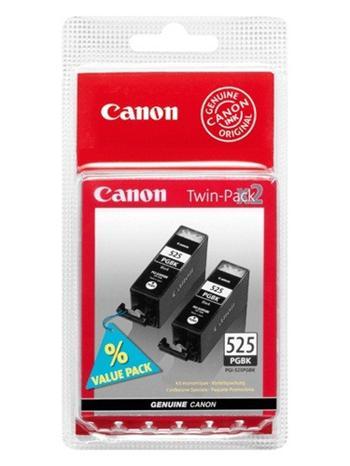 Canon ink. náplň PGI-525Bk černá Twin pack - 4529B010