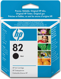 HP No. 82 Black Ink Cart pro DSJ 510, 69 ml, CH565A - CH565A