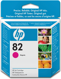 HP No. 82 Magenta Ink Cart pro DSJ 510, 28 ml, CH567A - CH567A