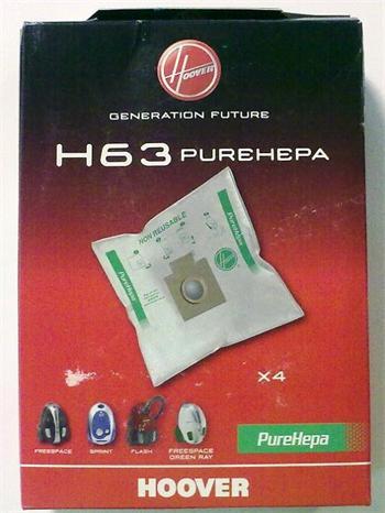 Hoover H 63 sáčky do vysavačů Freespace - H 63