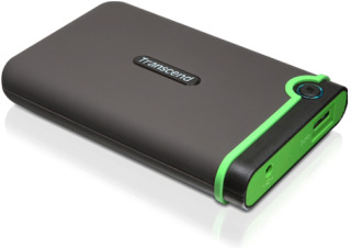 Transcend HDD StoreJet 25M3 500GB HDD 2.5'' USB 3.0, SW Elite, anti-shock, černý - TS500GSJ25M3