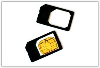 Micro SIM adaptér pro iPad 2/iPhone 4/iPad 3G (microSIM redukce) - micro SIM