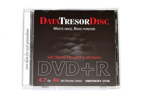 DVD+R DataTresorDisc 4,7GB 4x Jewel Box - DTDCJSPDCDBOX+F