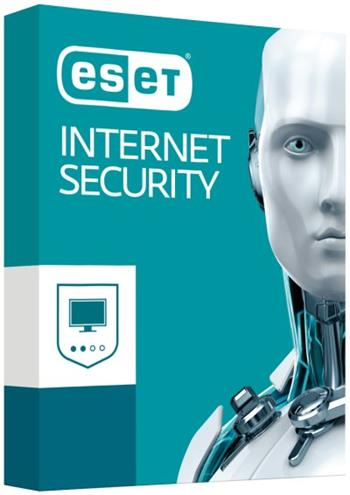 ESET Internet Security 10, 2lic na 3 roky, el.licence - ESET19
