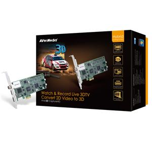 AVerTV 3D Capture HD, 3DTV , sledovaní/nahravání 2D a 3D TV, PCI-E - 61H272 -3D