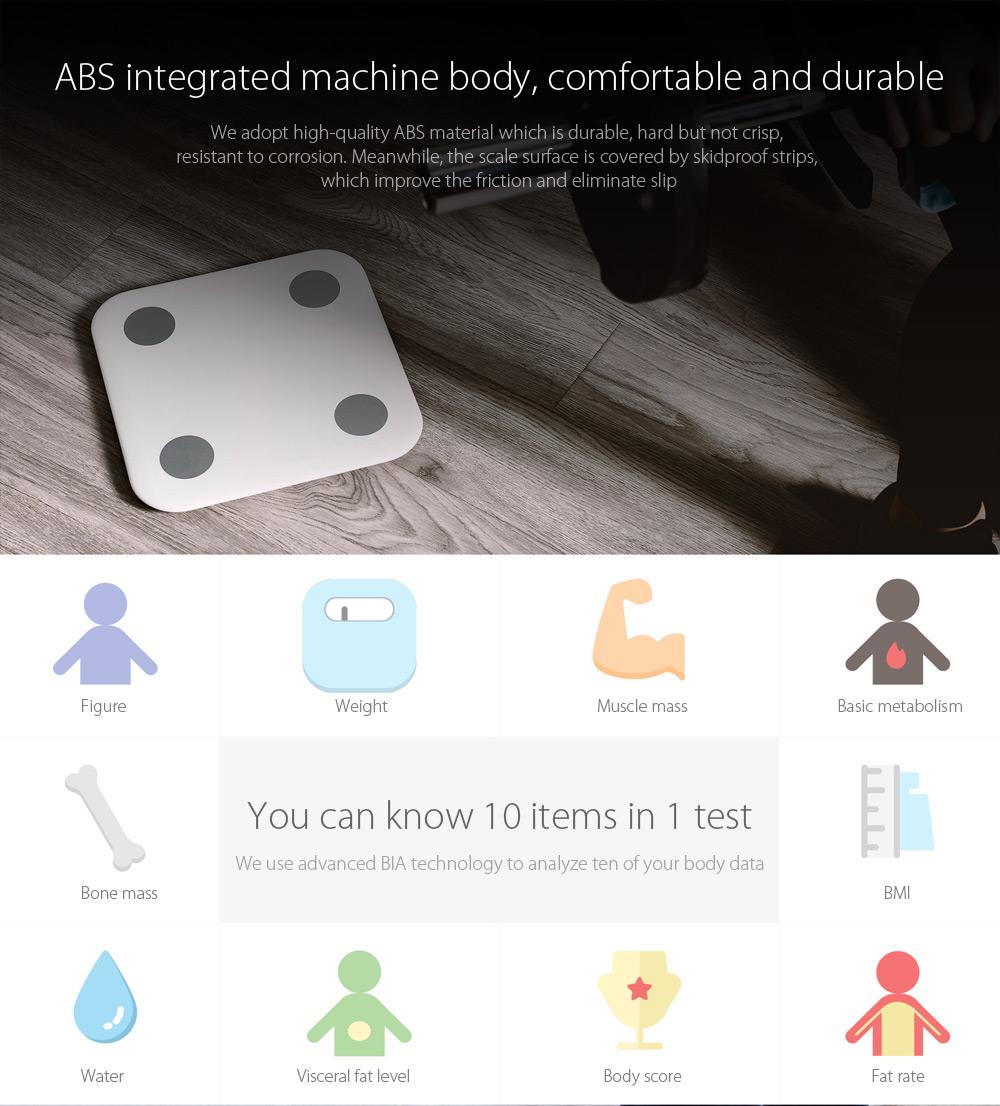 0255ffb94 Xiaomi Mi Body Composition Scale - osobní váha | Softcom Group ...